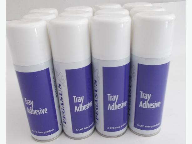 12 cans of Tray Adhesive 200ml