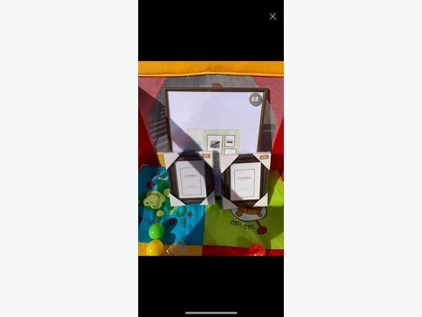 brand new photo frame set dunelm