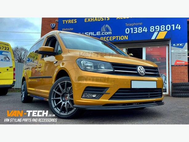 "18"" BOLA VST Alloy Wheels and  Maxxis Tyres for VW Caddy Van"