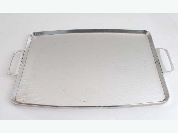 WoodMet Silver Serving Tray