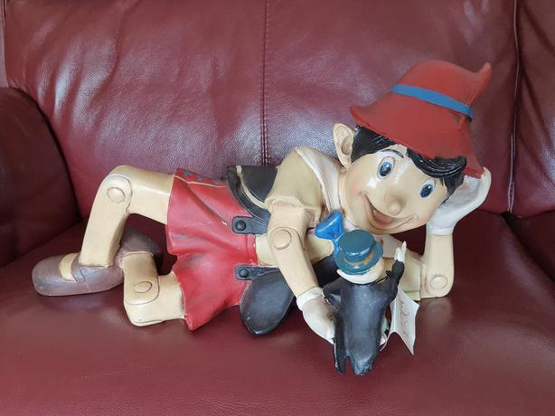 Pinocchio Resin Model. 21 inches long by 10 inches high. Made by Yab