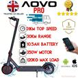 🇬🇧2021 350w AOVO Pro elec e scooter  35km10.5AHbattery  SHOWROOM  inc App
