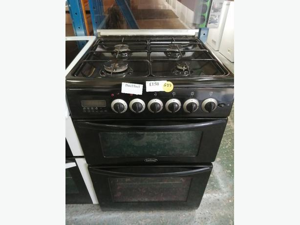Belling 60 cm gas cooker Duel Fuel with warranty at Recyk Appliances
