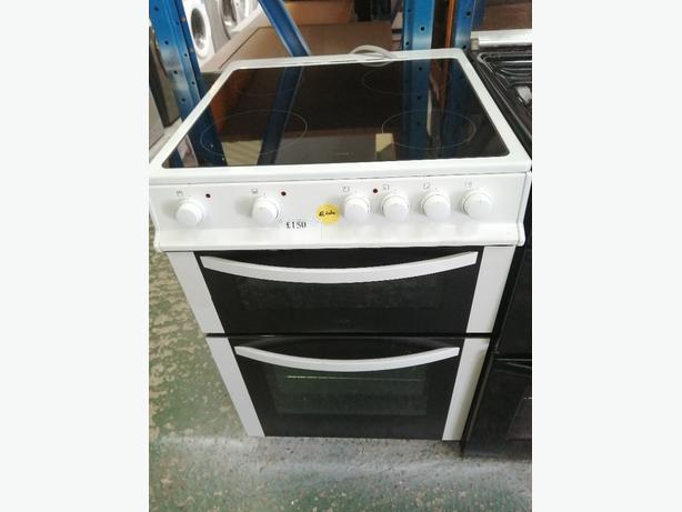 Logik 60 cm electric cooker with warranty at Recyk Appliances