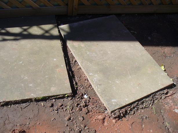 9 USED EX COUNCIL SLABS 3X2