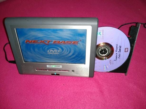 """NextBase Portable dvd player SDV17-A 7"""" screen"""