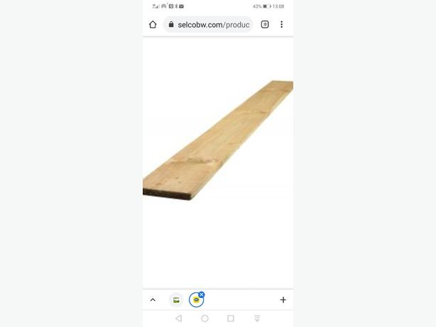 WANTED: 6x1 timber