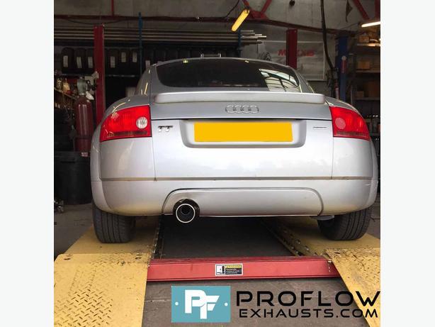 Proflow Custom Built Stainless Steel  Exhaust  Audi TT