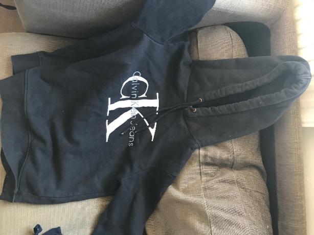 Mens calvin klien hoodie