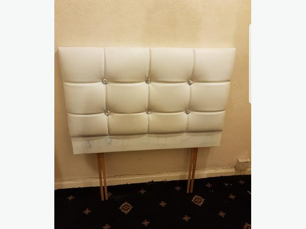 Lovely Leather Headboards for Single & Double Bed Good Condition Can Deliver