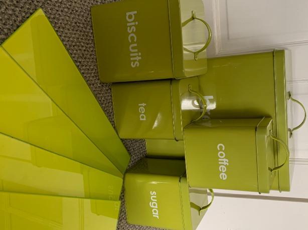 storage tins & worktop savers