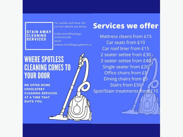 STAIN AWAY CLEANING SERVICES