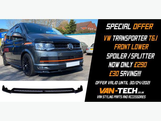 SPECIAL OFFER VW  T6.1 Front Lower Spoiler / Splitter