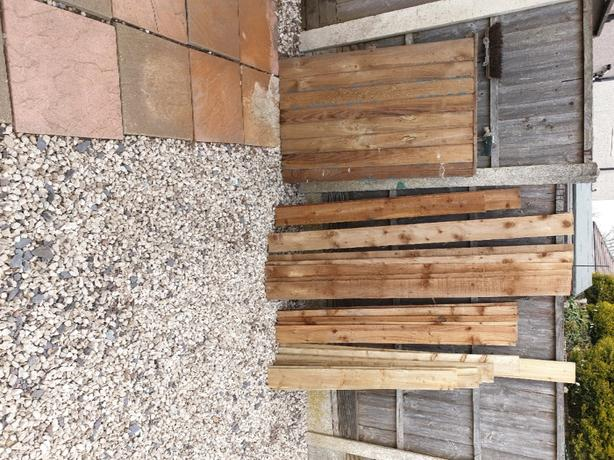 f/edged boards shed repairs