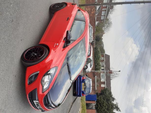 Vauxhall corsa sxi 2013 vxr mods