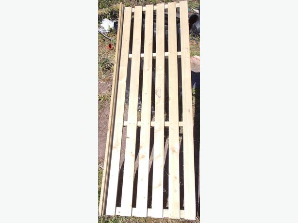 Wood Garden Greenhouse Shelf