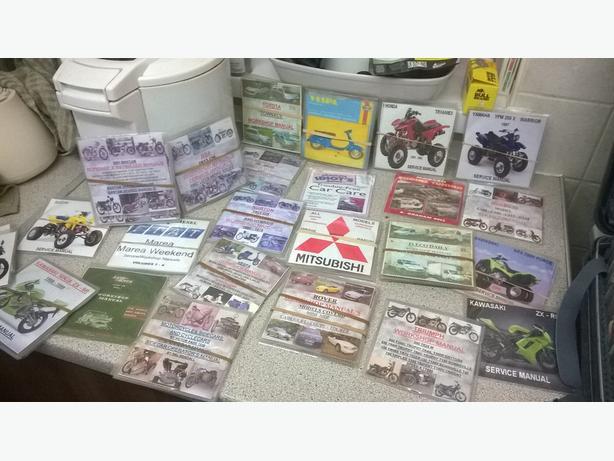 Workshop Manuals CD Car Service & Repair Manuals