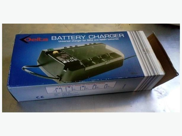 Delta battery charger universal charger for NiCd and NiMH batteries