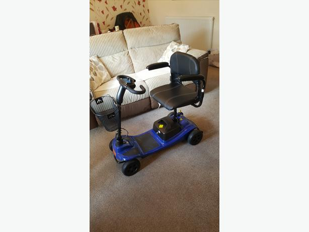 Mobility scooter Liberty 12AH Blue transportable