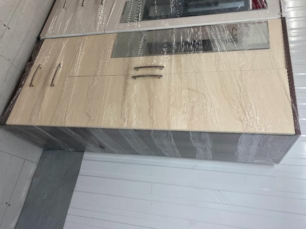 2 DOOR CREAM/WALNUT COLOUR WARDROBE BRANDNEW