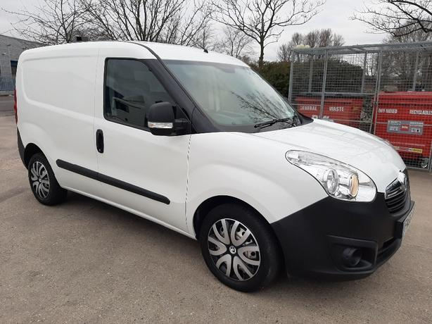 VAUXHALL COMBO 1.3 CDTI L1H1 AIR CON, 1 OWNER,  66 REG, 59000 MILES