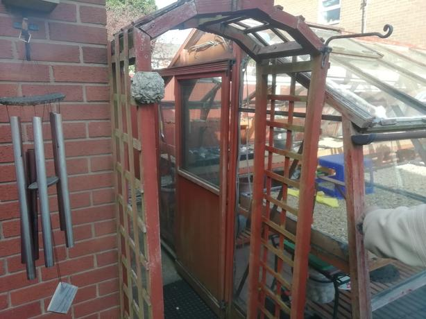 FREE wooden greenhouse