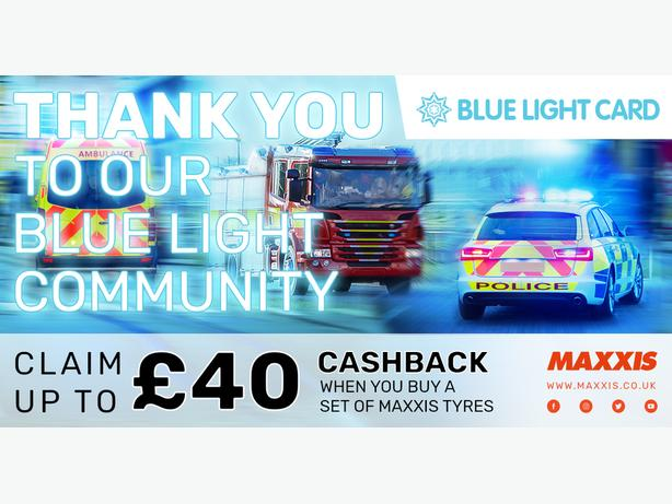 Spread the word: Maxxis Tyres Blue Light Card discount!