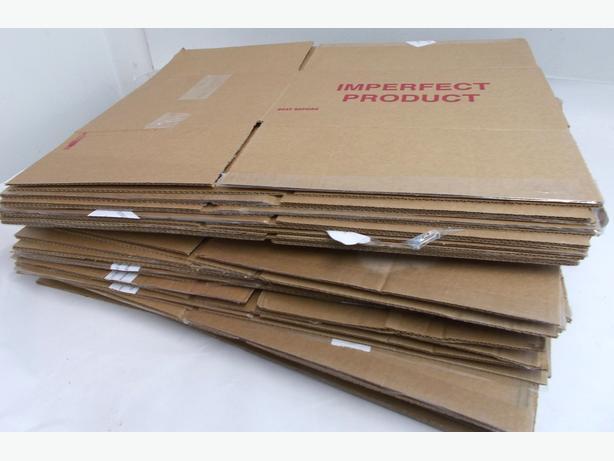 Joblot of 20 Cardboard Boxes