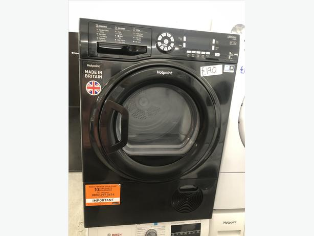 🚚🚚 GRADED HOTPOINT 9KG CONDENSER DRYER - WITH GUARANTEE 🚚🚚