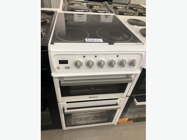 🚚🚚 HOTPOINT 50CM ELECTRIC COOKER- PLANET 🌎 APPLIANCE 🚚🚚