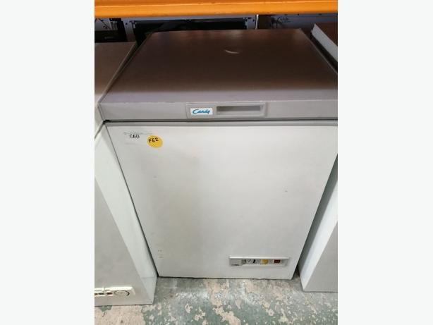 Candy chest freezer with 3 months warranty at Recyk Appliances