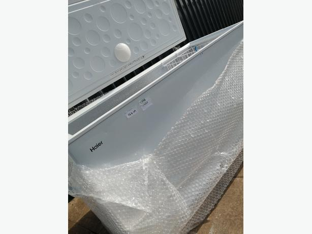 Haier large chest freezer graded with warranty at Recyk Appliances