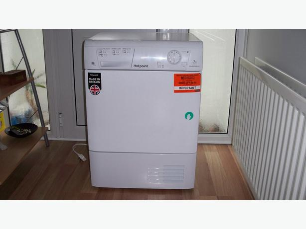 TUMBLE DRYER HOTPOINT FETC70BP 7kg CONDENSER - £150 ono
