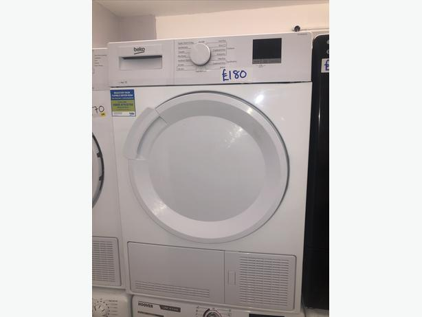🚚🚚 BEKO 9KG CONDENSER DRYER- GRADED WITH GENUINE GUARANTEE 🚚🚚