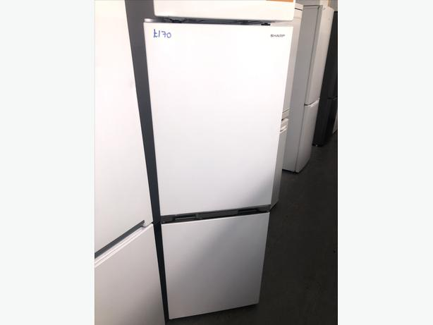 🚚🚚 SHARP FRIDGE FREEZER- GRADED WITH GENUINE GUARANTEE 🚚🚚