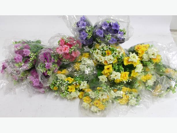 Joblot of Artificial Lisianthus Flowers