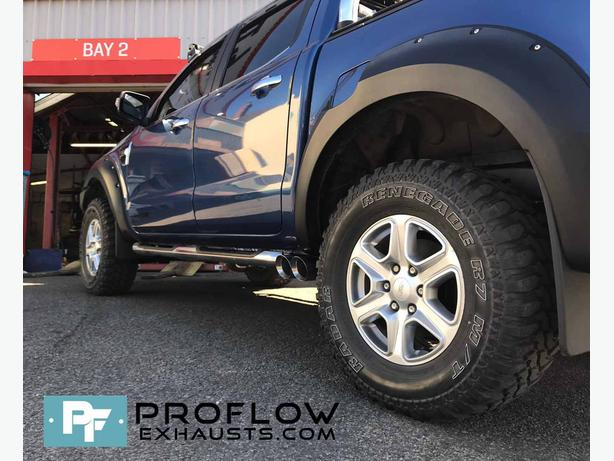 Ford Ranger Custom Middle Dual Exit Exhaust