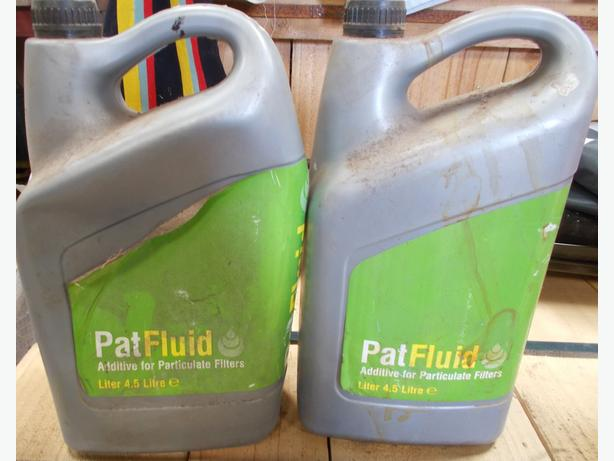 2 Part Tubs ofPat Fluid 4.5L Additive for Particulate Filters