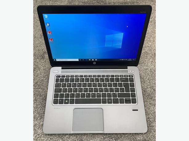 "HP ELITEBOOK 14.1"" LAPTOP INTEL I7 8GB RAM 240GB SSD WINDOWS 10 OFFICE 16"