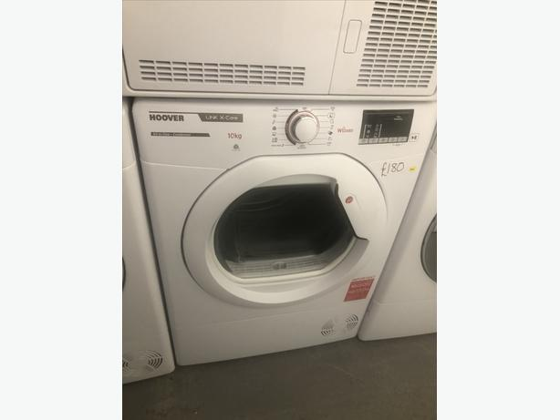 🇬🇧🇬🇧 GRADED HOOVER 10KG CONDENSER DRYER 🇬🇧🇬🇧