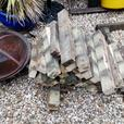 Pieces of decking