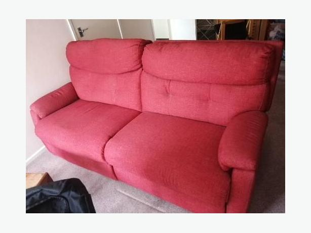 Recliner Red Lazy Boy Sofa Forsale