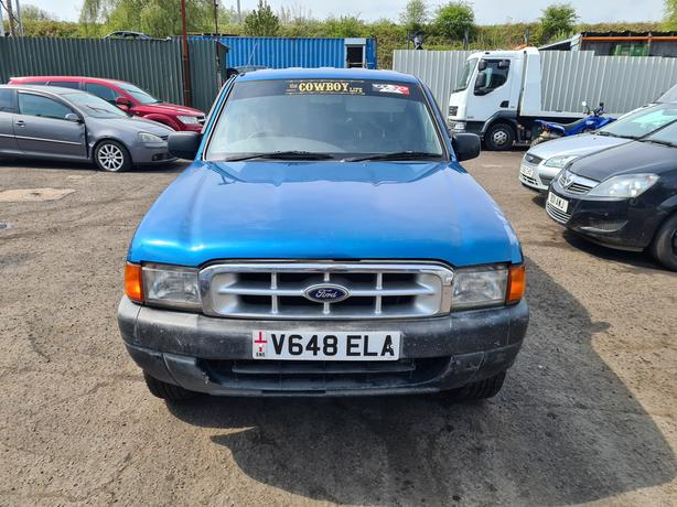 FORD RANGER DOUBLE CAB 4X4 TD 2.5 DIESEL 5 SPEED 1999