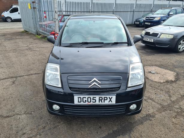 CITROEN C2 FURIO 1.4 PETROL 5 SPEED MANUAL 3 DOOR HATCHBACK 2005 MOT'D