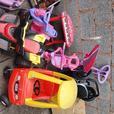outdoor toys/prams/walker