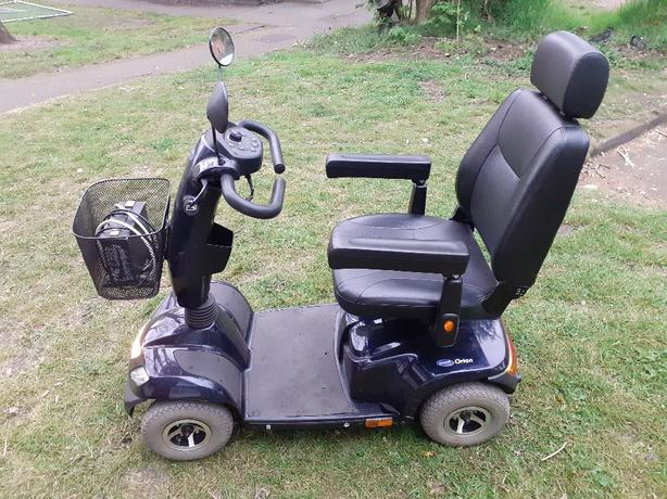 invancare orion mobility scooter