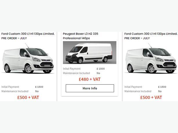 Lease Vans Bad Credit
