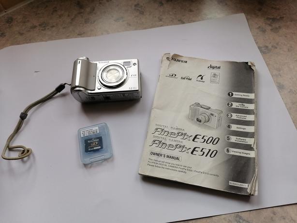 Fujifilm Finepix E Series E500 4.1MP Digital Camera