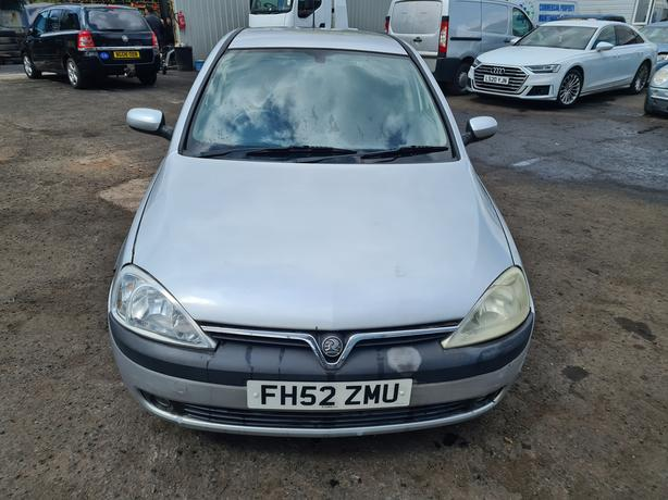 VAUXHALL CORSA SXI 1.2 PETROL 5 SPEED MANUAL 2002 MOT'D
