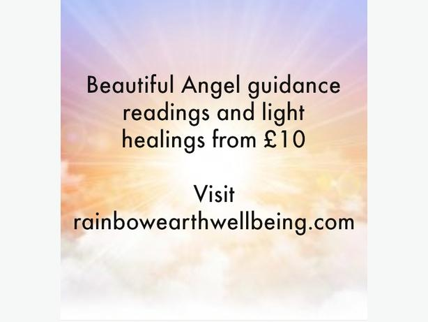 Beautiful Angel guidance reading and healing